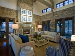 Great room of the HGTV Dream Home 2012 located in Midway, Utah