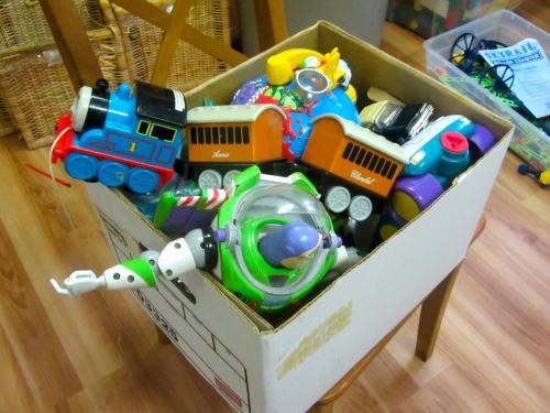 De-Cluttering Toys