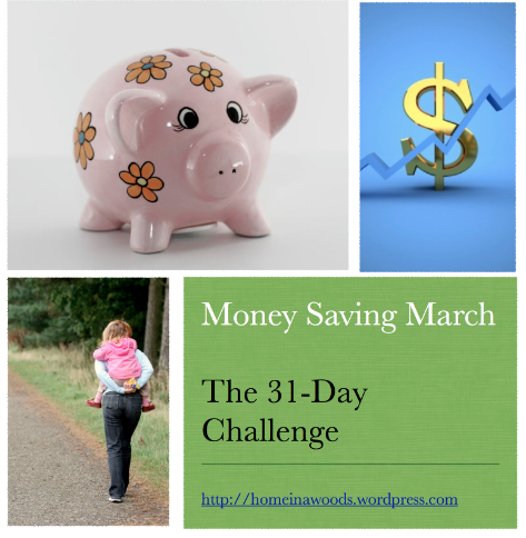 money saving march
